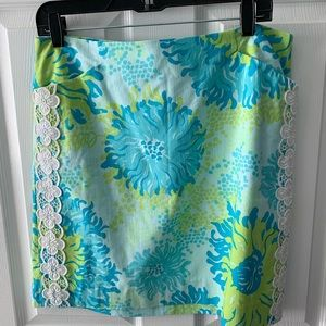 Lilly Pulitzer White Label Skirt